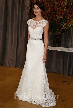 Brides.com: Fall 2013 Wedding Dress Trends. Trend: Elegant, Victorian-Inspired Wedding Dresses. Gown by Judd Waddell  See more Judd Waddell wedding dresses in our gallery.