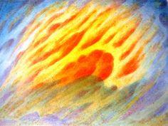 Sun XII (watercolor)