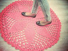 Bar-borka: Háčkovaný koberec