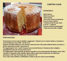 chiffon cake Types Of Sponge Cake, Sponge Cake Recipes, American Cake, Light Cakes, Mud Cake, Angel Cake, Breakfast Buffet, Chiffon Cake, No Bake Cake