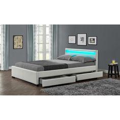 329.99 € ❤ STELLAR #Lit adulte 2 tiroirs + LED 160x200cm coloris blanc + sommier inclus ➡ https://ad.zanox.com/ppc/?28290640C84663587&ulp=[[http://www.cdiscount.com/maison/meubles-mobilier/stellar-lit-adulte-tiroirs-led-160x200cm-blanc/f-117600218-wsb8941white160.html?refer=zanoxpb&cid=affil&cm_mmc=zanoxpb-_-userid]]