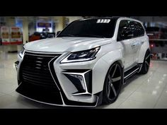 2020 LEXUS LX 570 S Super SUV - Full Review Interior and Exterior - YouTube
