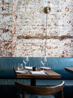 Located in Manhattan's Nolita, The Musket Room showcases an alluring and inviting interior, created by London design studio Alexander Waterworth Interiors. There is this unique mix of old industrial and edgy trendy feel. The design studio deliberately approached the design of The Musket Room by creating a space with a certain level of detail but that was still unpretentious :...