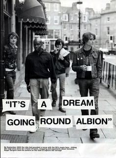it' a dream about the libertines.
