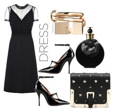 """dress"" by anicagrbesa ❤ liked on Polyvore featuring Valentino and RED Valentino"