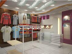 Showroom Shari Fashion Interior Design Idea