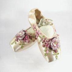 Flower Ballet Shoes.