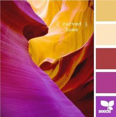 carved hues // design seeds, natural brilliance funk not sure how classic Colour Pallette, Color Palate, Colour Schemes, Color Combos, World Of Color, Color Of Life, Living Colors, Design Seeds, Color Theory