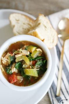 Yum | Tuscan Vegetable Soup (from Mama SP's Diet Plan)
