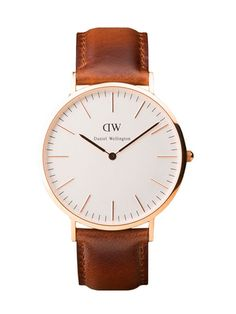 Daniel Wellington Mens 40 MM Classic St. Andrews Watch