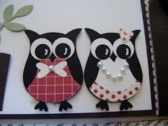 I'm just lovin these owls!
