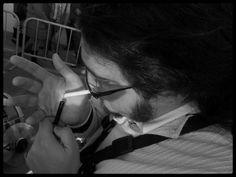 """""""Álvaro"""". Saxofonista y amigo oriolano. Cabalgata de Reyes 2014. Torrevieja."""