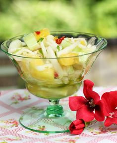 Celebrating the Moments by Marcie: Easy & Fresh Summer Side Dish (mayo free)