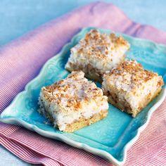 Är du sugen på att baka? Det här är en riktigt saftig och god äppelkaka med kanel och kokostäcke. Apple Recipes, Cake Recipes, Cookie Cake Pie, Fika, No Bake Desserts, Scones, Biscuits, Sweet Tooth, Sweet Treats