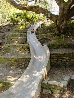 Concrete Slide @ Codornices Park