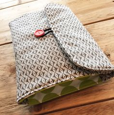 Travel Changing Pad Diapering on the Go Grey Design by izyandoly