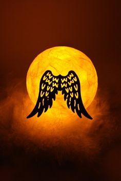 """Kugellicht  """" Flügel """"  von Creativablue auf DaWanda.com"""