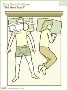 "Baby Sleep Positions: ""The Neck Scarf"""