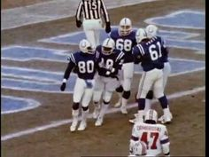 1981 Baltimore Colts (Another one for Heather!)