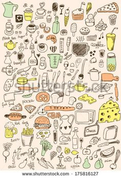 Hand Drawn Vegetables (5,037)