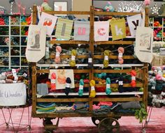 Plucky Knitter display