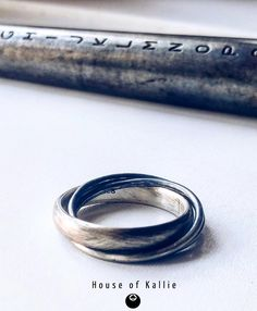 Hand crafted from Sterling Silver, featuring 1 broad band and two narrower bands, our tribute to the classic Russian Wedding Band in Sterling Silver Russian Wedding, Wedding Bands, Silver Rings, Engagement Rings, Sterling Silver, Jewelry, House, Posters, Design