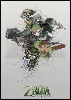 The Legend of Zelda – Link's Evolution