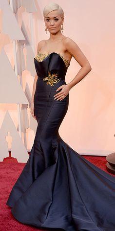 2015 #Oscars Rita Ora