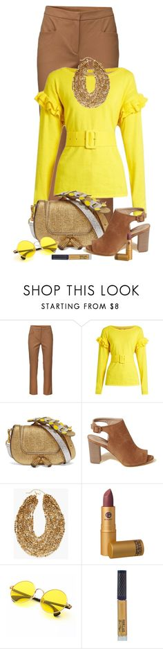 """""""Untitled #1991"""" by ebramos ❤ liked on Polyvore featuring Jadie, Muveil, Anya Hindmarch, Hollister Co., Chico's, Lipstick Queen and Winky Lux"""