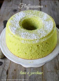 chiffon cake,chiffon cake al lime,chiffon cake alle zucchine,ricetta chiffon cake, ricetta fluffosa, ricetta fluffosissima,chiffon cake recipe