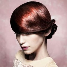 Cherry red hairstyle - red hairstyles - Woman And Home