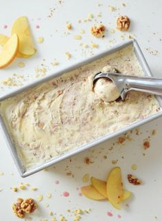 surprise! it's charoset ice cream! passover will never be the same: think the yummiest apple crisp a la mode you've ever imagined…