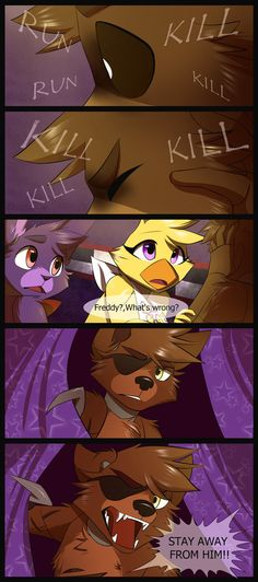 FNAF Part 10 is Finally Finished!! i am so sorry that this comic wasn't coming very long time ;w; i hope that you all like it! ;w; Page 9 -cristalwolf567.deviantart.com/… Page 11 - (co...