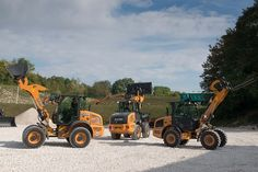 New Case F Series Compact Wheel Loader is Perfect in Every Mission