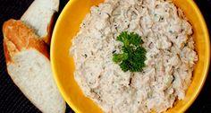 Majonézes tonhalkrém recept Hummus, Risotto, Mashed Potatoes, Grains, Beverages, Rice, Cooking, Ethnic Recipes, Food