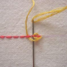 Stitch School: Pekinese Stitch