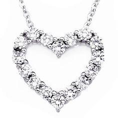 Buy Cara Studded Heart pendantRs1999|Foonty.com FCAJP976
