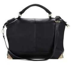Gorgeous black satchel #bag