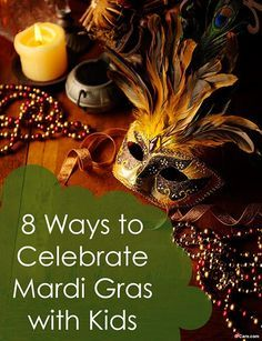 Mardi Gras and kids can mix! Here are child-friendly recipes, activities and crafts to do with kids to enjoy Carnival.