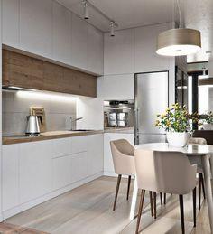 Luxury Kitchen Design, Kitchen Room Design, Luxury Kitchens, Living Room Kitchen, Home Decor Kitchen, Rustic Kitchen, Interior Design Kitchen, New Kitchen, Home Kitchens