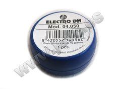 Vaselina desoxidante Electro dh 04.050 para facilitar la soldadura y estañado de metales – Envase de 10g #electrónica #bricolaje #taller #jsventaonline www.jsvo.es