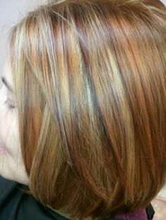 New England Fall inspired color  ColorTrendsHairSalon.com