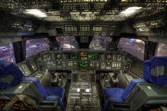Shuttle Cockpit, Space Center Houston