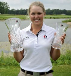 Smiths Falls' Brooke Henderson wins the 2014 Canadian Women's Tour Ontario event