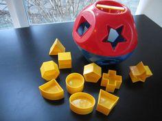 Tupperware Toy Sorter