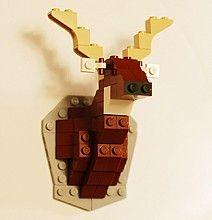 Lego Taxidermy
