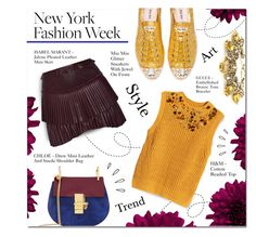 """NYFW"" by larissa-takahassi ❤ liked on Polyvore featuring H&M, Isabel Marant, Miu Miu, Chloé, Gucci and Old Navy"