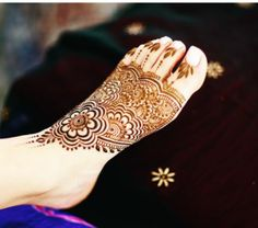 Best Henna Mehndi Feet Designs {Tattoos}