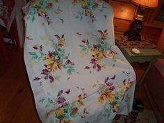 Vintage Wilendur Leaves Acorns Yellow Burgendy Jadite Cottage Fall Fantastic EX | eBay
