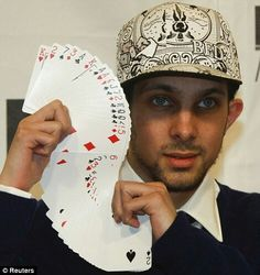 Steven Frayne more popularly known as Dynamo (born 17 December 1982 in Bradford), is an English magician and TV personality.